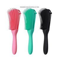 3 Pieces/set Brush With Double Side Edge Brush For Kinky Curly/coily Hair 3 Pi jllSQJ
