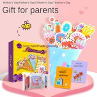 Main imports: Teacher's Day Gift Bouquet three greeting cards handmade children's gifts kindergarten crafts toys