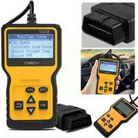 Code Readers & Scan Tools Car Diagnostic Scanner Obd 2 Automobile Fault Instrument Reader Engine Black Automotive C A8Y5