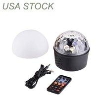 Bluetooth Speaker Strobe Party Lights, LED-effekter USB Powered Night Lamp, 9 färger Ljud aktiverat scenlampa med fjärrkontroll för barn sovrum julklapp