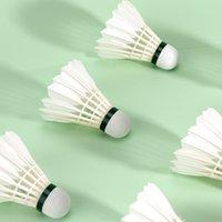 12 Pack Badminton Shuttle Sluiten Duurzame ballen voor Indoor- en Outdoor Training Games (S01L)