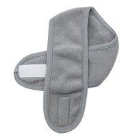 Klett-Sport-Yoga-Haar-Band-Doppelschicht-Stirnband-Schweißabsorption Anti-Gleit-Laufen-Verdickungsgery