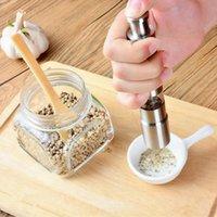 Manual Pepper Mills Grinder Stainless Steel Salt Muller 27*153mm Home Pepper Mincers Kitchen Tools ZZA3375