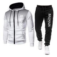 Designer Tracksuits Mens Роскошный пот Костюмы осень зима бренд мужчины Jogger наборы куртка + брюки мода спортивные женщины капюшон хип-хоп высочайшее качество спортивная одежда