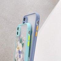 Lavender Flower Phone Case Floral Garden Transparent Hard Back Cover TPU Bumper for IPhone 12 11 Pro Max XR XS 8 7P Bulk 97272