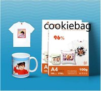 100 Sheets A4 size Sublimation heat transfer paper,100gsm paper,usage in Clothing,T-shirt, Cup,Pillow etc fssf sgg