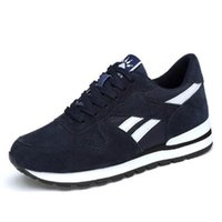 New breathable men's running shoes outdoor jogging sneakers ladies leather casual lightweight non-slip shoe size 38-48