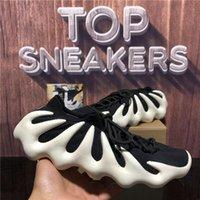 2021 Haut Qualité Kanye 450 Knit Chaussures de course à pied Crème Cloud Blanc Black Hommes Femmes Femme Fashion Plateau Extérieur Sport Entraîneurs Sneakers avec boîte Taille 36-47 EUR