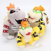 Bowser Koopa 플러시 인형 아기 선물을위한 동물 장난감 17-25cm