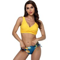 Women's Swimwear 2021 Bikini Set Sexy Women Separate Beachwear Bandage Push Up Designer Swimsuit Bathing Suit Swim