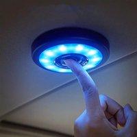 LED Auto USB cargando techo imán automático día luz troncal DRL cuadrado cúpula vehículo interior techo lámpara de techo coche interior luz de lectura
