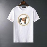 2021 Stile Ins Tiger Head Embroidery T Shirt Designer Abbigliamento Designer Designer Donne Uomo Casual Tshirt Asian Size M-XXXL # A46