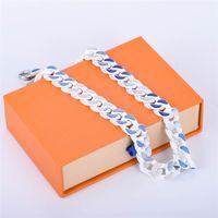 Unisex Halsketten Armband Mode Halskette Für Mann Frau Schmuck Anpassen Ketten Schmuck 8 Farbe Hohe Qualität