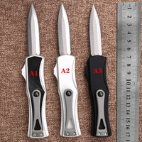 automatic KNIFE CNC T60161 handle D2 steel blade hight quality UTX70 UTX85 BM3300 A07 UT121 a24 Camping tactical pocket folding Quick opening cutting tool