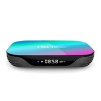 안드로이드 9.0 스마트 TV 박스 HK1 4GB RAM / 32GB ROM S905X3 64 비트 쿼드 코어 2.4G / 5G 듀얼 밴드 WiFi 3D 울트라 HD 8K 4K H.265 패키지 포함