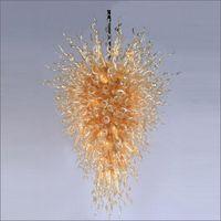 Qualidade superior italiano vidro soprado candelabro top design colorido handmade grandes candelabros