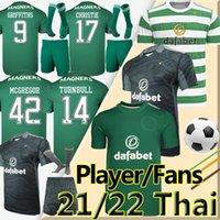 2021 2022 Celtic Soserys Fans Spieler Version 21/22 McGregor Griffiths Edouard Brown Duffy Turnbull Christie etyunouussi Football Shirt Männer Kinder Kit Uniform