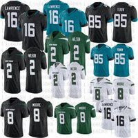 Erkekler Futbol 16 Trevor Lawrence 85 Tim Tebow 2 Zach Wilson 8 Elijah Moore Jersey