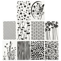 10 sztuk Szablon Po Dekoracji Scrapbooking Embossing Folder Craft Narzędzia