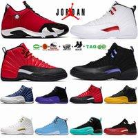 Air Jordan 12 retro Twist 14s Zapatos de baloncesto para hombre Jumpman 12s Bajo Pascua EP Hyper Royal Gripe Juego Playoff 14 Thunder Gym Man Athletic Deportes Entrenadores Zapatillas de deporte