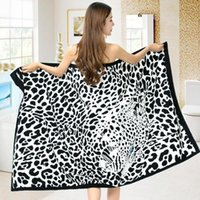 Towel Beach Eco-friendly Wear Resistant Polyester Fluffy Microfiber Bath Accessories For Home