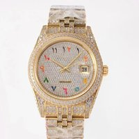 Mens Watch Mechanical Automatic Watches 41mm Diamond-studded Steel Ladies Fashion Wristwatches Montre de Luxe High Quality