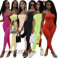 Women Jumpsuits & Rompers Off Shoulder Bodycon Long Sleeve Clubwear Playsuit Skinny Sexy Playsuits Female Black Trousers 1309