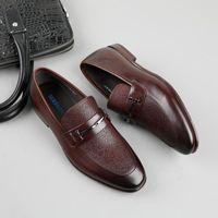 SerdaMomani Dress Shoes Designer Business Office Lefu Casual Driving Man Flat Party Leather Big Size