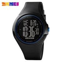 Skmei timebeauty 1602s men's watch fashion waterproof electronic classic large disc band