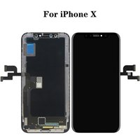"""For iPhone X Touch Panels Used to repair broken phone screen 5.8"""" Multiple quality options Digitizer Replacement Assembly LCD screens"""
