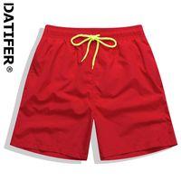 Men's Swimwear 2021 Datifer Surf Short For Men Summer Waterproof Beach Board Shorts Workout Casual Half Pants Male Plus Size 4XL