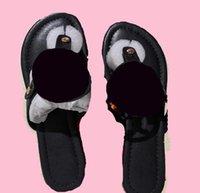 브랜드 여성 샌들 플랫 슬리퍼 샌들 박힌 소녀 신발 arrivel 젤리 플랫폼 슬라이드 레이디 플립 플롭 상자 35-41