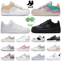 Luchtmacht 1 One Shadow Running Shoes AF1 Mannen Dames Triple White Black Tropical Twist Snakeskin Blue Mens Trainers Sport Sneakers Platform