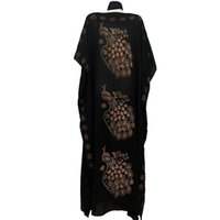 Mode Afrika Stil Abaya Lange Dashiki Diamant Pfau Kleidung Schwarzes Kleid mit Schal Lose Muslim Robe Für Afrikanische Dame Ethnische Kleidung