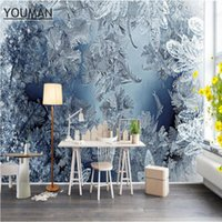 Sfondi Sfondi gratis Desktop wallpaper Modern Wall Decor Blue and White Minimalista Minimalista Texture 3D Inverno Snow Bedroom Bedroom Art Restaurant