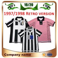 97/98 Version rétro Ronaldo Soccer Jersey 84 85 00 02 03 04 05 11 12 15 16 Del Piero Inzaghi Zidane Marchisio Ibrahimovic Davids Italia Football Shirt