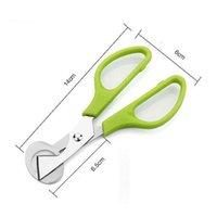Новый 5 цвет из нержавеющей стали яйцо открывалка инструмент перепелиных яиц ножницы резак бытовые кухонные инструменты EWA6013