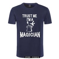 CCCCSPortTrust Me Im 마술사 재미있는 티셔츠 매직 쇼 출연자 인쇄 티셔츠 패션 크리스마스 일 브랜드 탑 티
