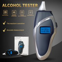 Police New Fuel Cell Digital Alcohol Breath Tester Portable Professional Optical Ty9000 Check Drunk Driving Blowing Blue Hand-Held Breathing Unique Breathalyzer