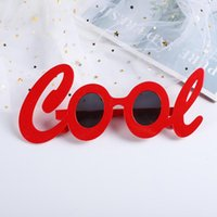 Other Event & Party Supplies Funny Design Red Letter Style Adult Cute Sunglasses COOL Prom Take Pictures Y2K Lolita Tie Decorative Glasses