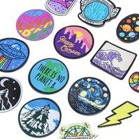 Nähen Vorstellungen Kleidung Patches dekorative gewebte Etiketten, Bügel- und Gummieranzüge können angepasst werden