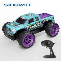Sinovan RC Cars 2.4GHz High Speed RC CAR 1:36 Control remoto Juguetes para automóviles para niños Cool off Road RAR RAR NIÑOS TOYS REGALOS 210322