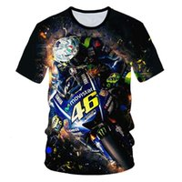 Polo Shirt Vente chaude VR46 Cross Country Country Country Racer Série Impression Homme Sleeve Sleeve