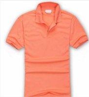 high quality Men Polo Shirt Big small Horse crocodile Embroidery LOGO Short Sleeve Summer Casual Business Polos Shirts Mens a1