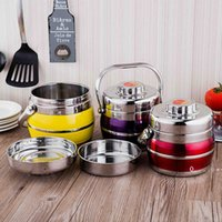 Stainless Steel Lunch Box Vacuum Thermo Thermal Portable Food Container Metal Set Picnic Bento Box Adult Japanese Lunchbox FWB10158