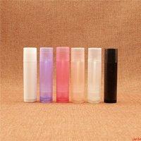 5ml Kunststoff Lippenstift Flasche Leere Handgemachte Lippen Ölpaket Rohr Batom Creme Container Viele Farben Kostenloser Versand GUTS