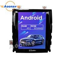 Giocatore AOCAV 10,4 pollici Verticl Schermo schermo DVD multimediale For- Escalade 2007-2012 Audio Video Autoradio Stereo GPS Navigazione GPS