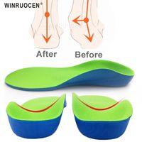 Ayakkabı Parçaları Aksesuarları Winruocen Çocuk Profesyonel Kemer Desteği Ortez Tabanlıklar Düz Ayaklar Cubitus Varus XO Bacak Plantillas Ped Sole Ekler
