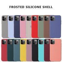 Candy Color Matte Silicone Soft TPU Cases For iPhone 12 11 Pro Max XR XS X 8 7 6 6S Plus SE2