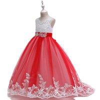 Girl's Dresses 2021 Summer Girls Dress Long Bridesmaid Kids For Children Princess Party Wedding 3 10 12 Years Vestido